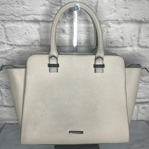 Rebecca Minkoff Regan Ivory Satchel Crossbody